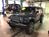 HARD TOP! THIS CERTIFIED 2016 JEEP WRANGLER SAHARA 4X4