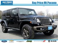 Wrangler Unlimited Sahara 75th Anniversary Edition, 4D