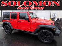*FACTORY CERTIFIED WITH ONLY 19K MILES! 2016 JEEP