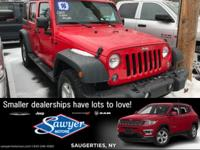 Introducing the 2016 Jeep Wrangler Unlimited! A safe