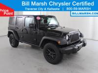 2016 Jeep Wrangler Unlimited Sport 4WD, Willys Wheeler
