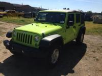 Introducing the 2016 Jeep Wrangler Unlimited! A great
