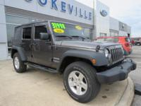 LOW MILES, This 2016 Jeep Wrangler Sport will sell fast