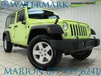 4WD, Wrangler Unlimited Sport, 5-Speed Automatic,