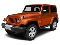 Introducing the 2016 Jeep Wrangler! A great vehicle and