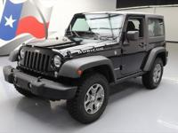 2016 Jeep Wrangler with 3.6L V6 Engine,6-Speed Manual