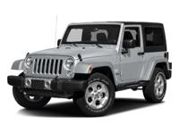 Clean One Owner CarFax. Wrangler Sahara 4X4 LEATHER