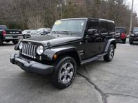 2016 jeep wrangler unlimited sahara 4x4 1-owner only