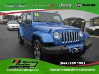 Introducing the 2016 Jeep Wrangler JK Unlimited! An