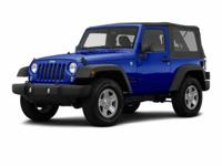 Introducing the 2016 Jeep Wrangler! Ensuring composure