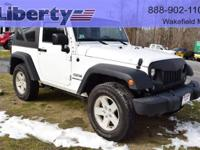 1 OWNER WITH ONLY 17000 MILES!!!2016 JEEP Wrangler