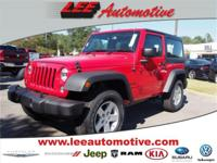 Introducing the 2016 Jeep Wrangler! It offers the