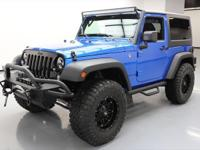 2016 Jeep Wrangler with Hydro Blue Pear Paint Coat,3.6L