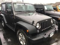 Wrangler Sport, 4WD, and ***ONE OWNER***. Drive this