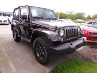 Come see this 2016 Jeep Wrangler Sport. Its