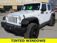 Recent Arrival! White 2016 Jeep Wrangler Unlimited,