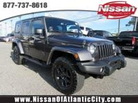 Check out this 2016 Jeep Wrangler Unlimited Sahara. Its