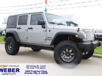 Recent Arrival! Silver Jeep Wrangler **ANOTHER WEBER