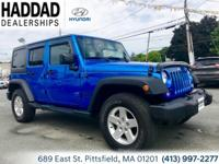 2016 Jeep Wrangler Unlimited Sport Hydro Blue Pearlcoat