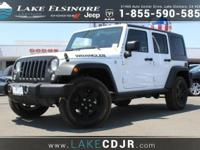 This 2016 Jeep Wrangler Unlimited Black Bear is proudly