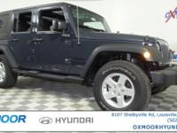 Jeep Wrangler Unlimited Sport CARFAX One-Owner. Clean
