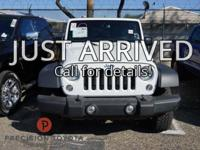 Clean CARFAX. Recent Arrival! White Unlimited Rubicon