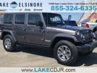 CARFAX One-Owner. 2016 Jeep Wrangler Unlimited Rubicon