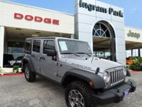 This 2016 Jeep Wrangler Unlimited Rubicon is a tough,