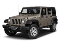 This 2016 Jeep Wrangler Unlimited Rubicon is offered to