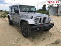 2016 Jeep Wrangler Unlimited Rubicon 4WD 5-Speed