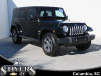 This 2016 Jeep Wrangler Unlimited Sahara offers