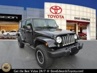 Options:  2016 Jeep Wrangler Unlimited Sahara|4X4