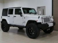 White 2016 Jeep Wrangler Unlimited Sahara 4WD 5-Speed