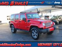 CARFAX One-Owner. Clean CARFAX. Red 2016 Jeep Wrangler