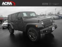 Used 2016 Jeep Wrangler Unlimited, stk # 172099, key