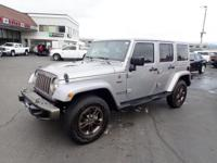 CARFAX One-Owner. 2016 Jeep Wrangler Unlimited Sahara