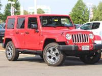 Only 1,839 Miles!!! Jeep Wrangler Unlimited Sahara