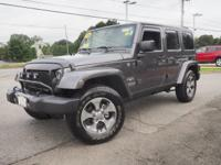 Jeep Certified, CARFAX 1-Owner, Spotless, GREAT MILES