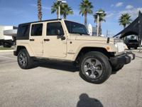 Mojave Sand Clearcoat 2016 Jeep Wrangler Unlimited