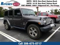 LOW MILEAGE 2016 JEEP WRANGLER UNLIMITED SAHARA