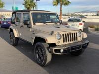2016 Jeep Wrangler Unlimited Sahara 4D Sport Utility