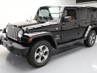 This awesome 2016 Jeep Wrangler 4x4 comes loaded with