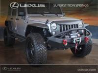 Clean CARFAX.  2016 Jeep Wrangler Unlimited Sahara 3.6L