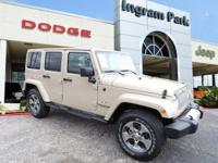 This 2016 Jeep Wrangler Unlimited Sahara is a tough, no