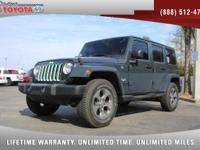 2016 Jeep Wrangler Unlimited Sahara 4x4 V6, *** 1