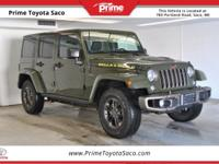 CARFAX One-Owner! 2016 Jeep Wrangler Unlimited Sahara