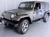 Wrangler Unlimited Sahara W/ Navigation, Jeep