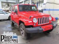 Recent Arrival! 2016 Jeep Wrangler Unlimited Sahara