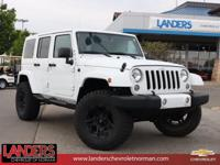 ACCIDENT FREE and A CARFAX 1 OWNER. Wrangler Unlimited