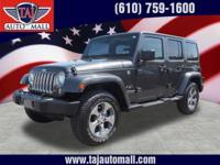 Options:  2016 Jeep Wrangler Unlimited Sahara|We Sell
